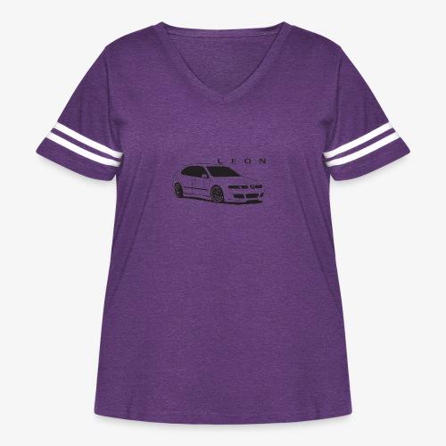 Seat LEON mk1 cupra - Women's Curvy Vintage Sport T-Shirt