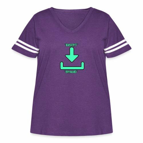 Brandless - Women's Curvy Vintage Sport T-Shirt