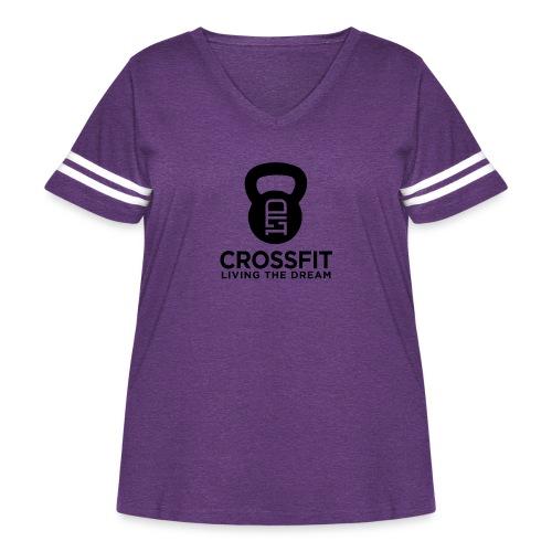 OG Shirt Style 1 - Women's Curvy Vintage Sport T-Shirt