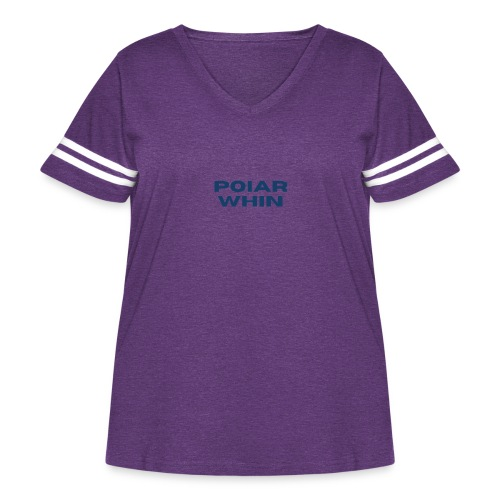 PoIarwhin Updated - Women's Curvy Vintage Sport T-Shirt