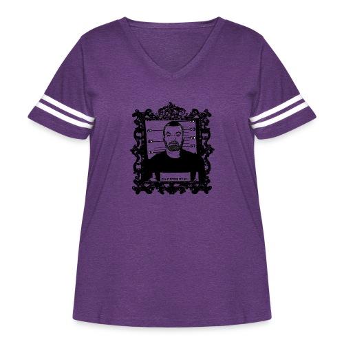 Framed Steven Avery - Women's Curvy Vintage Sport T-Shirt