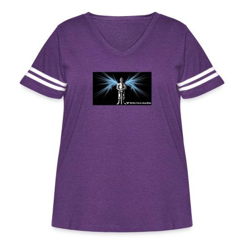 StrikeforceImage - Women's Curvy Vintage Sport T-Shirt