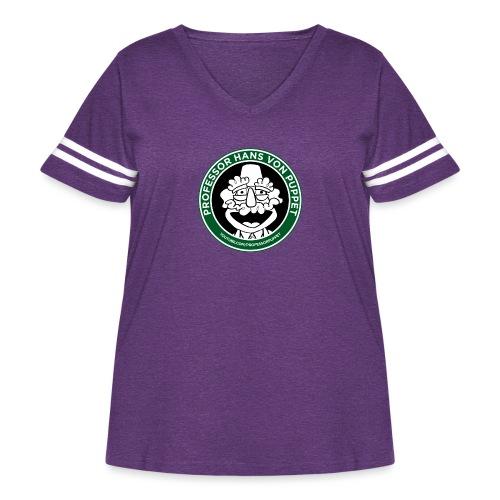 HVP Starbucks - Women's Curvy Vintage Sport T-Shirt