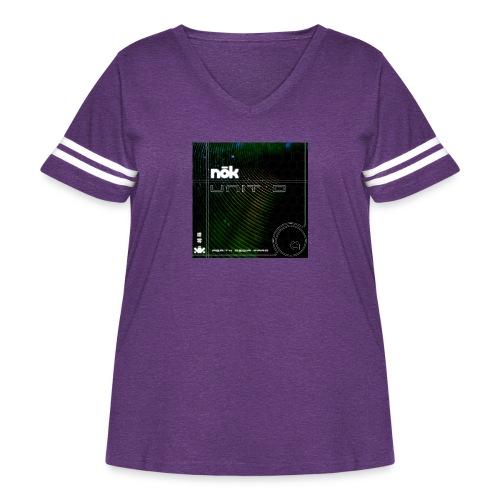 Unit 0 - Women's Curvy Vintage Sport T-Shirt