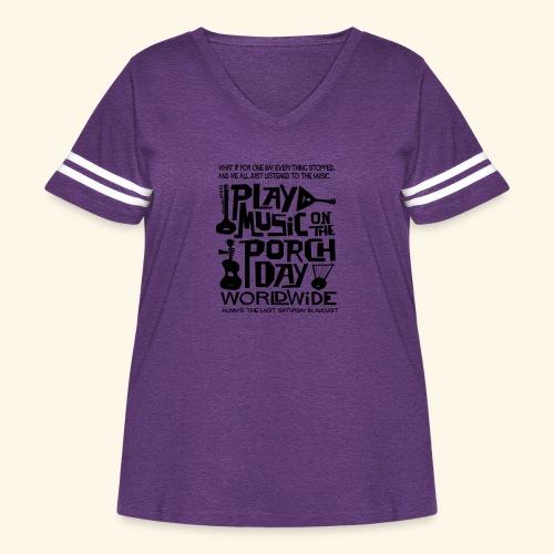 PMOTPD2021 SHIRT - Women's Curvy Vintage Sport T-Shirt
