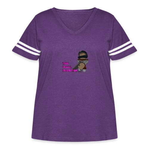 The Final Frontier Sports Items - Women's Curvy Vintage Sport T-Shirt