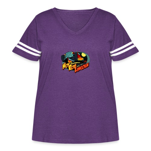 Hot Rod Lincoln - Women's Curvy Vintage Sport T-Shirt