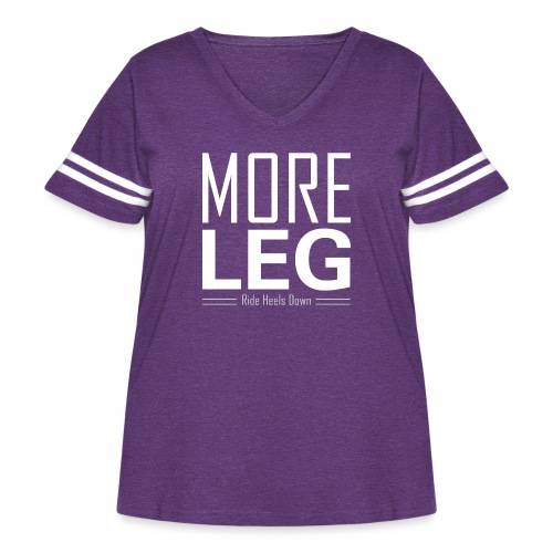 More Leg - Women's Curvy Vintage Sport T-Shirt