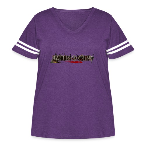 EoW Battleground - Women's Curvy Vintage Sport T-Shirt