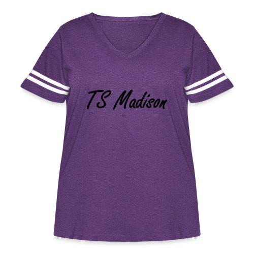 new Idea 12724836 - Women's Curvy Vintage Sport T-Shirt