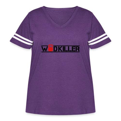 WOD - Women's Curvy Vintage Sport T-Shirt