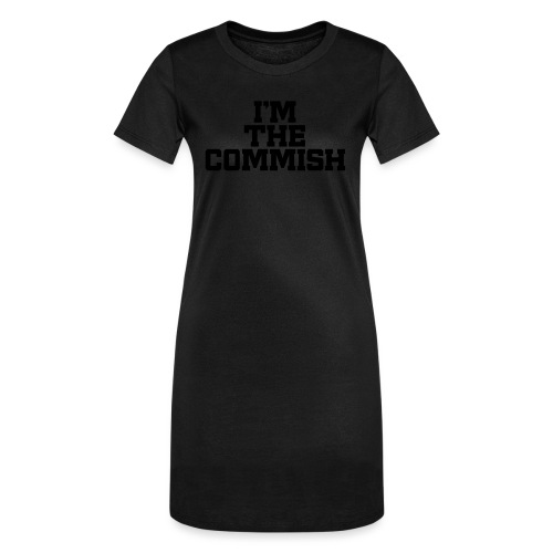 I'm The Commish (Turquoise & Metallic Gold) - Women's T-Shirt Dress