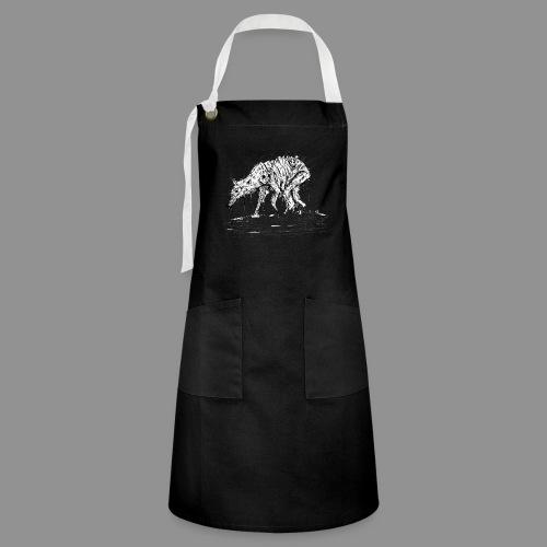 Wolfman Originals Black & White 13 - Artisan Apron