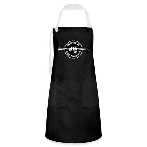 Weapons of Mass Percussion Drummers Drum Sticks - Artisan Apron