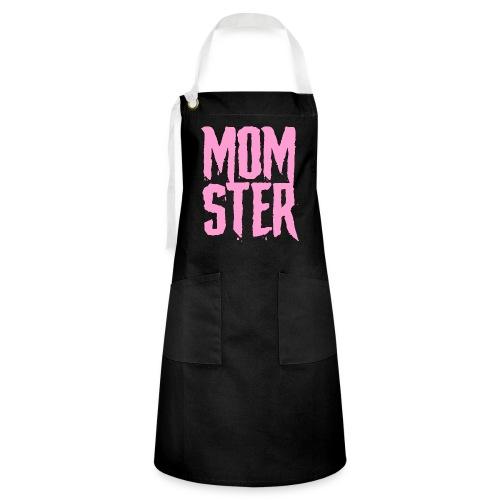 mother mom monster - Artisan Apron
