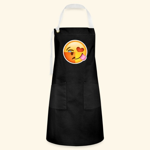 E Tees , Unique , Love , Cry, angry - Artisan Apron