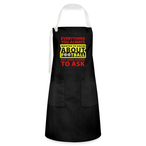 Every thing about football - Artisan Apron