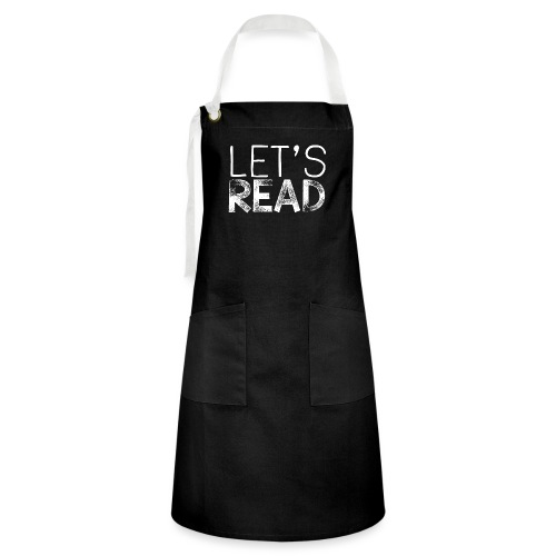 Let's Read Teacher Pillow Classroom Library Pillow - Artisan Apron