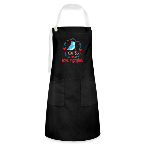 Cute Love Machine Bird - Artisan Apron