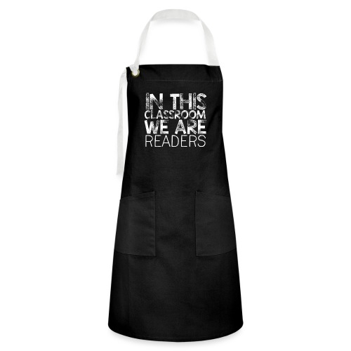 In This Classroom We Are Readers Teacher Pillow - Artisan Apron