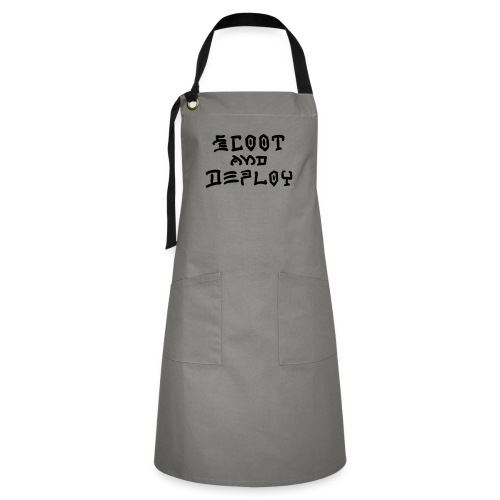 Scoot and Deploy - Artisan Apron