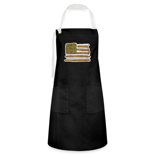 American Flag With Joint - Artisan Apron
