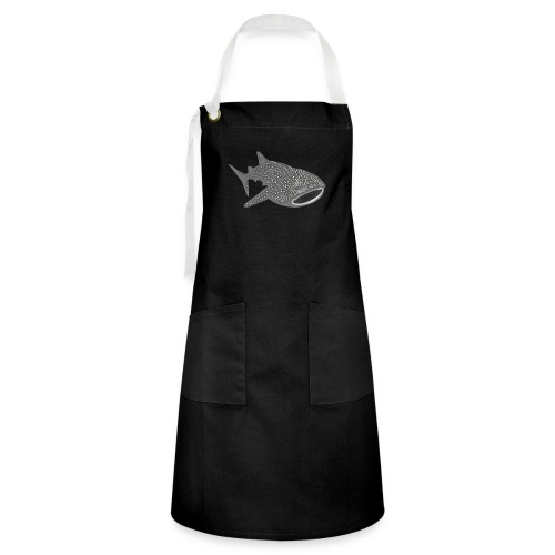save the whale shark sharks fish dive diver diving - Artisan Apron