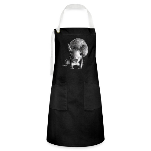 Cute Curious Squirrel - Artisan Apron
