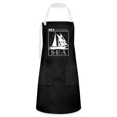 SEA_logo_WHITE_eps - Artisan Apron