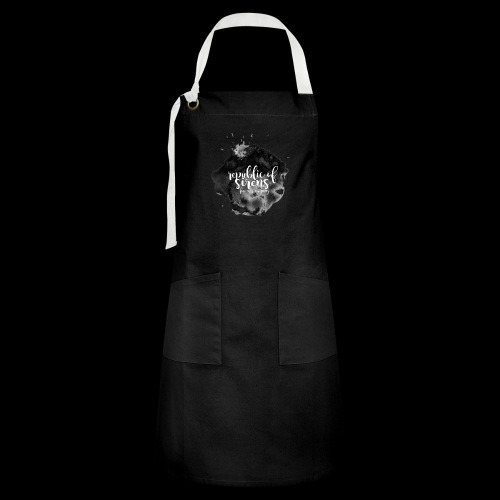 ROS FINE ARTS COMPANY - Black Aqua - Artisan Apron