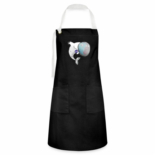 Dolphin in Space - Artisan Apron