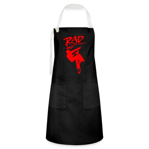 RAD BMX Bike Grafitti 80s Movie Radical T shirts - Artisan Apron