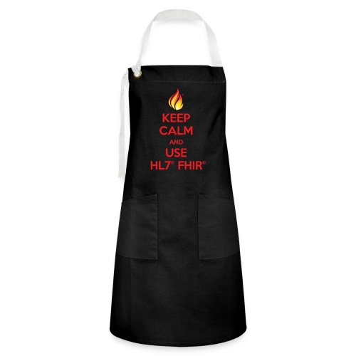 Keep Calm Use FHIR - Artisan Apron