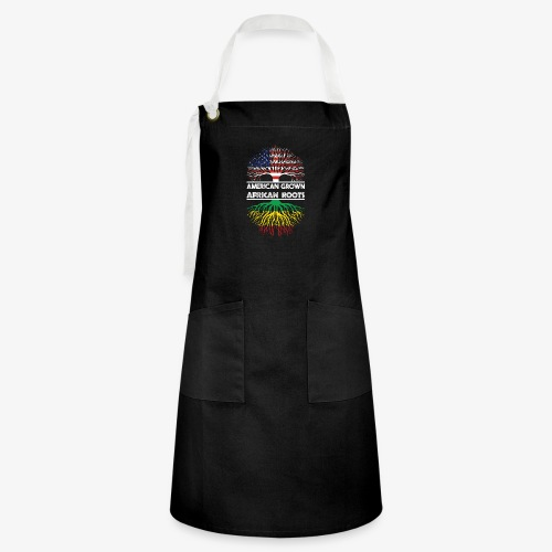 American Grown With African Roots T-Shirt - Artisan Apron