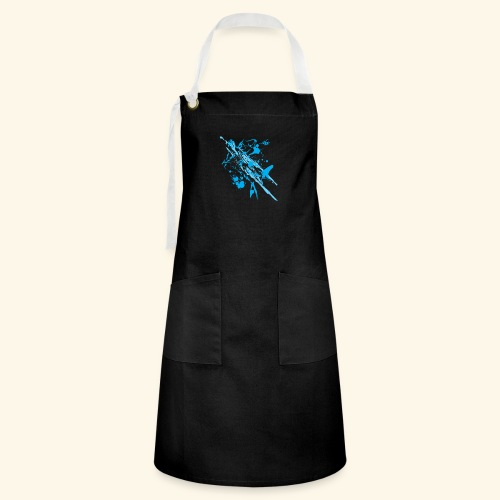 Blue Splash - Artisan Apron