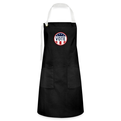 Vote Red White and Blue Stars and Stripes - Artisan Apron