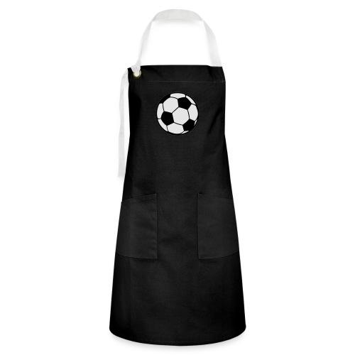 Custom soccerball 2 color - Artisan Apron