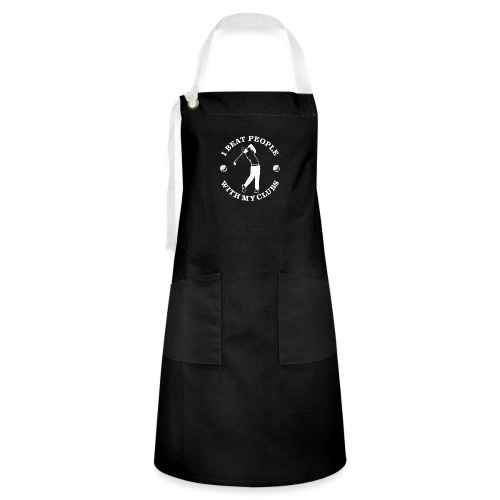 Beat People With Clubs - Artisan Apron
