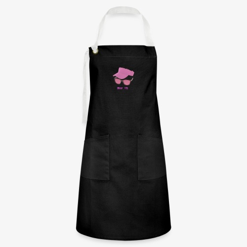 Glasses And Hat - Artisan Apron