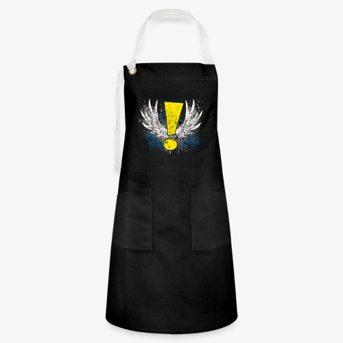 Winged Whee! Exclamation Point - Artisan Apron