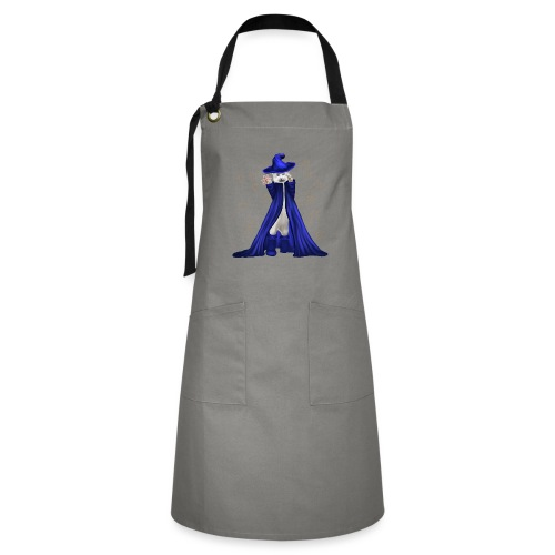 Cat Wizard with Stars - Artisan Apron