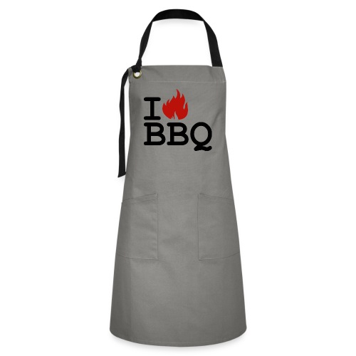 barbeque love chef cook - Artisan Apron