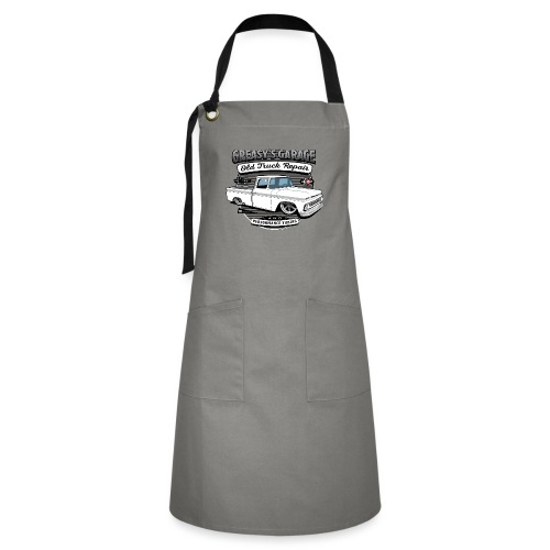 Greasy's Garage Old Truck Repair - Artisan Apron
