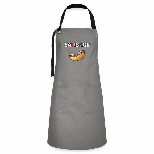 Patriotic BBQ Sausage - Artisan Apron
