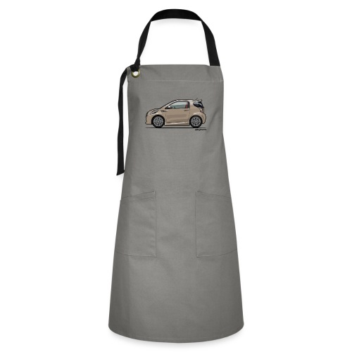 AM Cygnet Blonde Metallic Micro Car - Artisan Apron