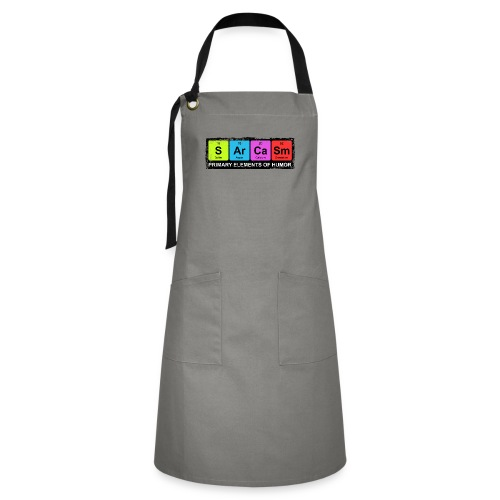 Sarcasm Periodic Elements Of Humor - Artisan Apron