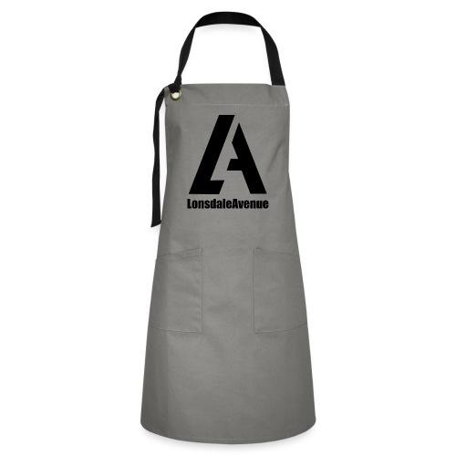 Lonsdale Avenue Logo Black Text - Artisan Apron