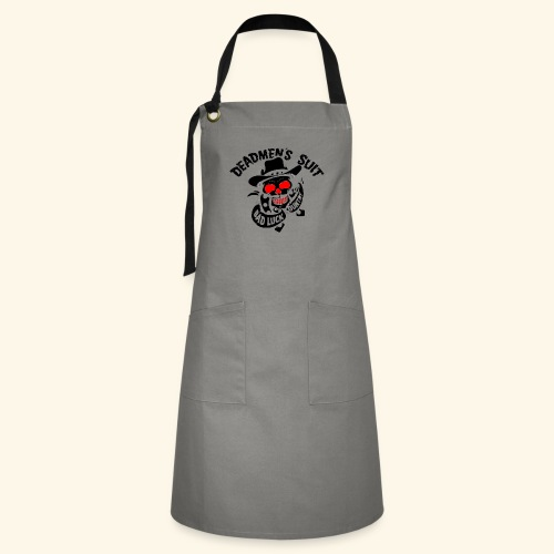 Deadmen's Suit Bad Luck#Skull - Artisan Apron