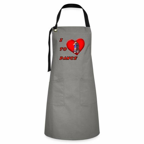 I Heart Dance - Artisan Apron