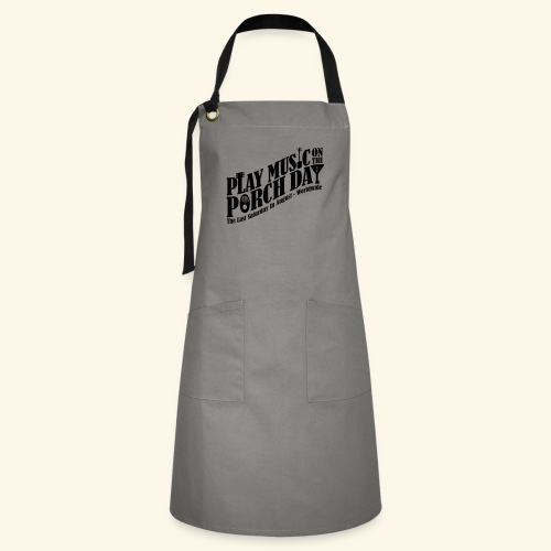 Play Music on the Porch Day - Artisan Apron